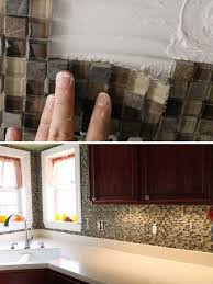 do it yourself kitchen backsplash ideas cheap diy kitchen backsplash ideas and tutorials you should see
