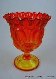 Ruby Vases Ruby Glassware Anchor Hocking Royal Ruby Vase Ruby Red Vase On