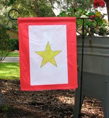 Decorative Garden Flags Gold Star Garden Flag Double Sided U2013 Crab Zone Llc