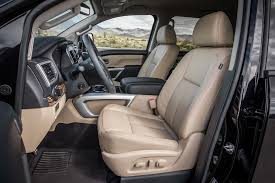 nissan titan interior 2017 nissan titan 2017 truck of the year contender motor trend