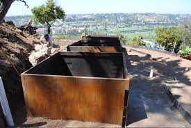 Metal Planter Box by Cor Ten Steel What U0027s The Difference Make Fabrication