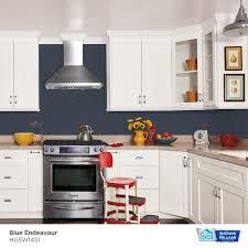 blue endeavor kitchen cabinets hgtv home by sherwin williams showcase satin blue endeavour hgsw1451 interior paint 1 quart