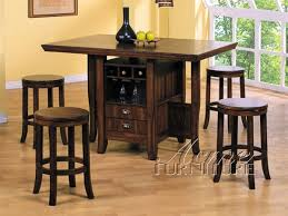 counter height kitchen island 5 heritage hill counter height kitchen island set in oak