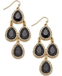 chandelier earrings inc international concepts teardrop chandelier earrings created