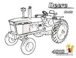 tractor coloring pages for kids printable print picture deere
