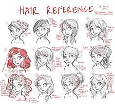 drawing of bob hair anatomi saç 8 anatomy hair 8 hair reference tips by marina