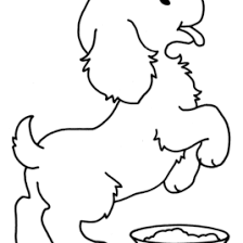 dog coloring book all about coloring pages literatured