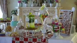 Candy Table For Wedding Sweet Decoration Of The Wedding Table Stock Video Footage