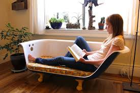 Clawfoot Bathtub For Sale Diy Clawfoot Bathtub Couch 34 Steps With Pictures