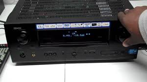 denon home theater denon receiver avr 2311ci youtube