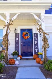 Halloween Decorating Doors Ideas 125 Cool Outdoor Halloween Decorating Ideas Digsdigs