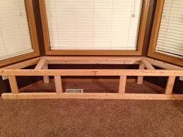Bench Made From 2x4 How To Make A Bay Window Bench Seat With Storage Snapguide