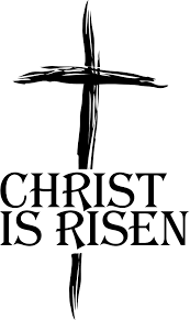 christian easter religious clipart black and white easter pictures