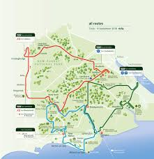 Southwest Route Map The New Forest Tour The Best Way To Discover The New Forest