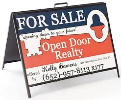 A Frames For Sale Yard Sign Fold Up Sign Tent With Portable Handle
