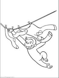 curious george coloring pages curious george library coloring