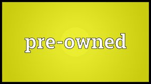 pre owned meaning