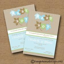 fall leaves baby shower invitation diy printable baby boy