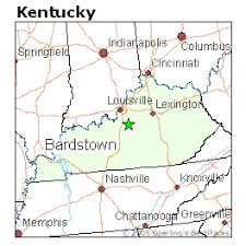 kentucky map bardstown best places to live in bardstown kentucky