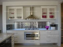 modern kitchen white appliances elegant apartment small apartment