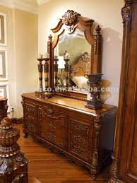 antique dressing table with mirror antique dresser dressing table and mirror wooden hand carved b50558