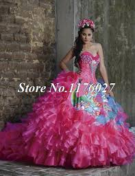 compare prices on puffy pink quinceanera dresses online shopping