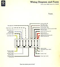 69 vw type 3 fuse box 69 wiring diagrams