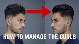 3 tips u0026 tricks for guys with curly wavy coarse hair youtube