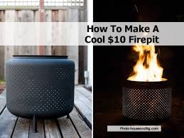 Make A Firepit How To Make A Cool 10 Firepit