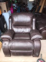 Leather Lazy Boy Recliner Brown Leather Reclining Lazy Boy Sofa And Swivel Reclining Chair