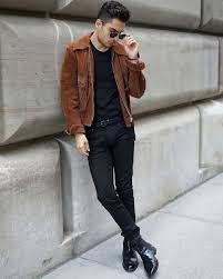 mens black biker style boots what to wear with chelsea boots the idle man