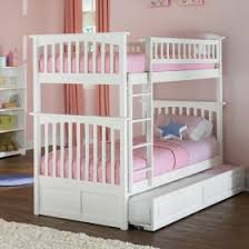 Bunk Beds For Girls Rosenberry Rooms - Girls white bunk beds