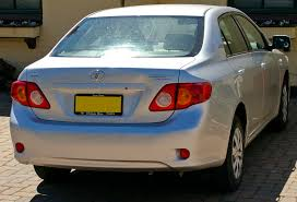 toyota 2007 corolla file 2007 toyota corolla ascent rear view jpg wikimedia commons