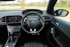 peugeot 308 gti interior peugeot 308 sw gt review auto express
