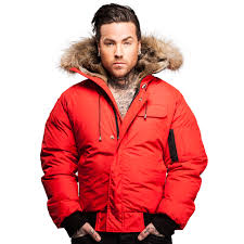 mens parkas er jackets by arctic north clothingmonster