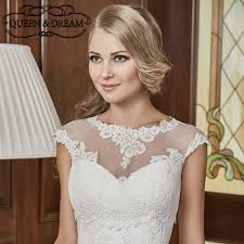 veste mariage pas cher élégante dentelle de mariage bolero veste manches courtes
