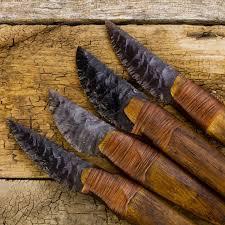 novarupta handmade obsidian knife