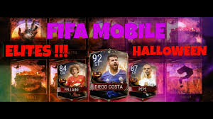 halloween pepe fifa mobile halloween pack opening pepe diego costa and