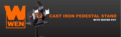 Ryobi Bench Grinder Price Wen 4288 Cast Iron Bench Grinder Pedestal Stand With Water Pot