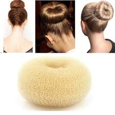 donut bun ilulu 3 pieces hair donut bun maker size large medium