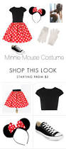 minnie mouse costume pearcemaddie polyvore featuring alice