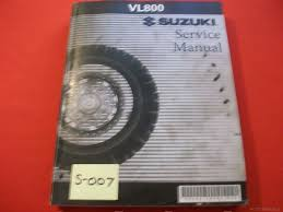 suzuki vl800 vl 800 original factory service manual u2022 69 90