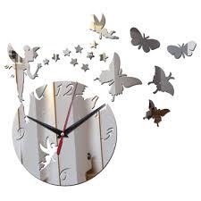 beautiful clocks 3d home decor diy acrylic wall clock make your wall more
