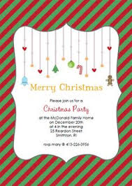 Christmas Party Invitations Pinterest - free printable christmas invitations template printables