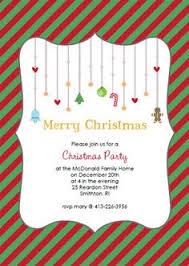 christmas open house invitation holiday party invitation
