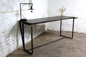 Slim Office Desk Make Your Office More Eco Friendly With A Reclaimed Wood Desk