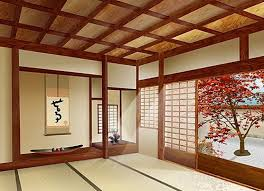 traditional japanese sliding door for japanese interior design
