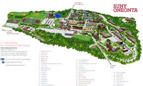 Iowa State Campus Map by National Application Center Campus Tours Suny Oneonta Academics