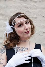 flapper headband diy diy flapper costume a beautiful mess