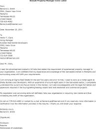 Resume Cover Letter Examples Management by Real Estate Administration Cover Letter
